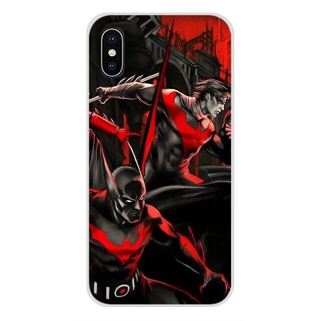Coque souple transparente pour Samsung A10 A30 A40 A50 A60 A70 Galaxy S2 Note 2 3 Grand Core Prime nouveaux films Batman Nightwing