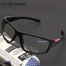 Longkeeper óculos anti luz azul, masculino, clássico, bloqueio de luz azul, para uso no computador, retrô
