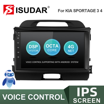 ISUDAR V57S Car Radio For KIA/Sportage 2010 2011 2012-2016 Autoradio Multimedia GPS DVR Camera RAM 2GB ROM 32GB USB IPS No 2din image