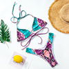 Halter Sexy Bikini Set Swimwear Women Bandage Swimsuit Push Up Biquini Feminino Bikinis 2020 Bathing Suit Female Beachwear