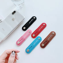 Wrist Finger Grip Mobile Phone Holder Stand Band Hand Band Push Pull Universal Car Phone Socket Holder For iphone 11 Xiaomi mi 9