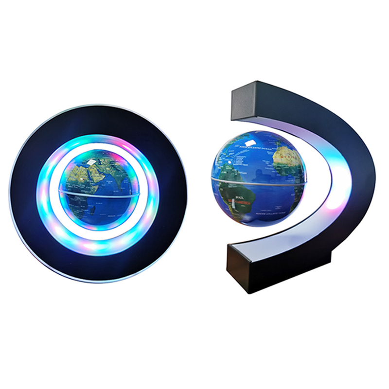 1 Pcs Magnetic Levitation Globe Student School Teaching Equipment Night Light Globe Creative Gifts 110/220V AC European Power