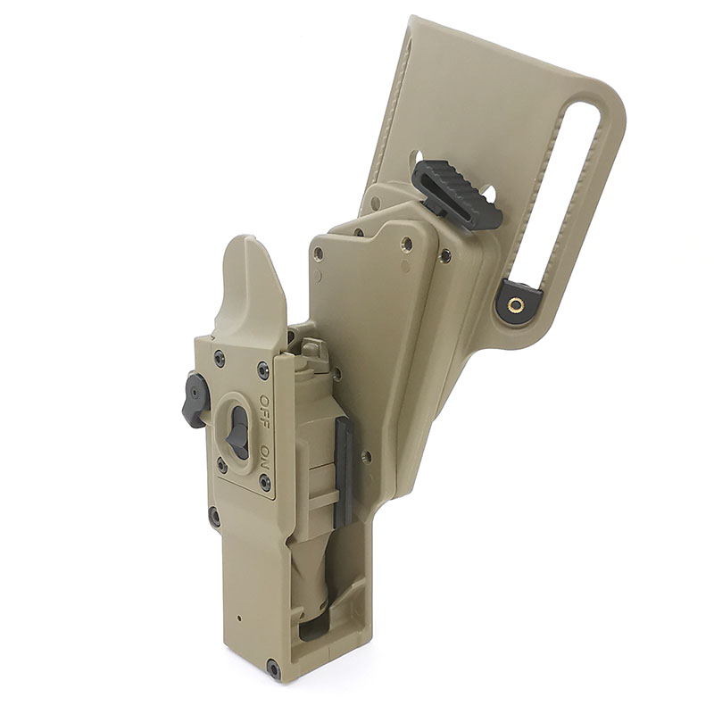 Arma táctica caza fleshlight softair holster landing adapter suits arma se puede almacenar XH15/XH35/X300UH-B glock holster Funda para linterna WUBEN, funda de nailon con Flash táctico, funda cartuchera ajustable para linterna resistente, funda de transporte de 6