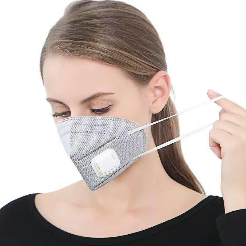 10pcs Vent Anti-dust Masks Anti Industrial Construction Dust Pollen Haze Gas Site Protection Tool