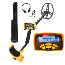Professional Underground Metal Detector MD-6450 Deep Search Gold Detector LCD Treasure Hunter Finder Scanner Searching Seeker