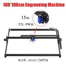DIY pulpit wycinarka laserowa 100CM maszyna do grawerowania i znakowania laserowego 1M * 1M laserowe ogniskowanie, frezarka do drewna