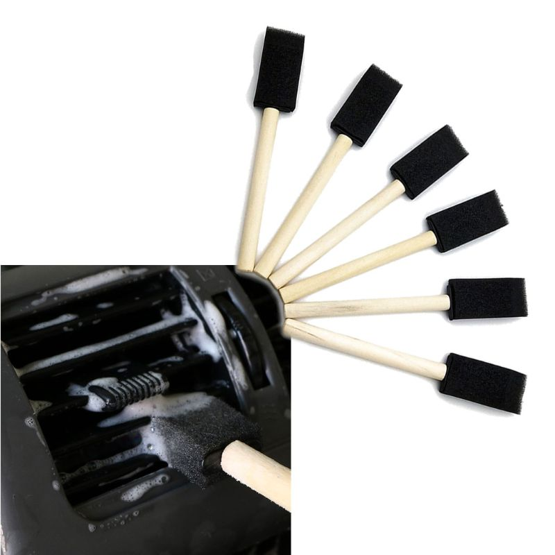 5 uds. Ventilación de aire acondicionado de coche cepillo rejilla detalle limpiador persianas plumero limpiar