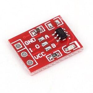 Image 3 - 10 pièces TTP223 Module de commutateur à clé tactile bouton tactile commutateurs capacitifs autobloquants/sans verrouillage commutateurs tactiles capacitifs