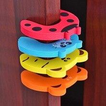 Дверной стопор дверная ручка для защиты стен, защита для детей, защита от ударов, 5 стилей, защита для пальцев