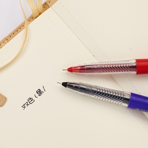 6 stücke Monami Solide Gel Pen-Set Pastell Farbe Barrel 0,5mm Kugelschreiber Schwarz Tinte Stifte Schreiben Unterschrift Büro Schule liefert A6119