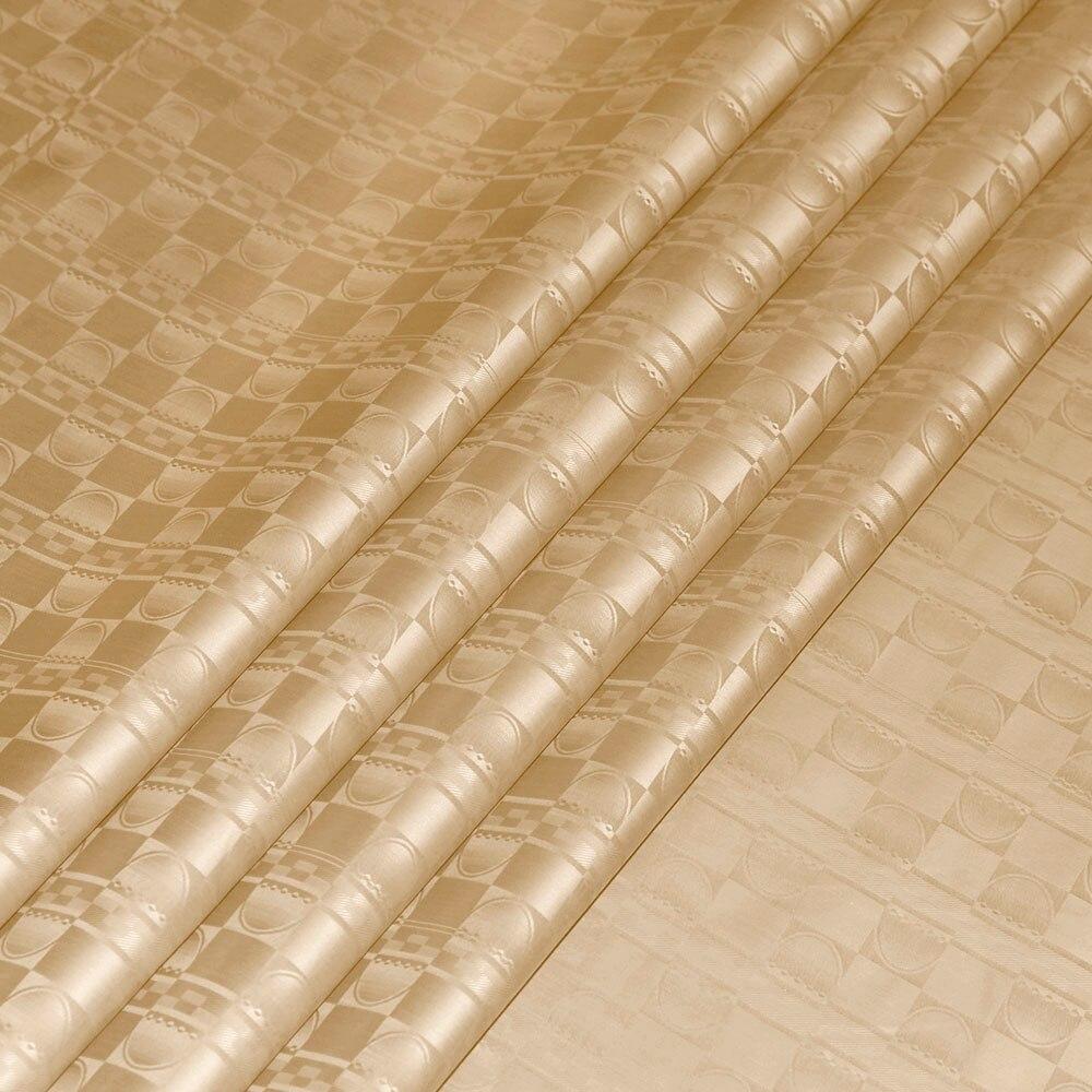 بازان الثراء النسيج الكاكي اللون 10 Meters عالية الجودة غينيا الديباج الملابس الأقمشة 100% القطن مع العطور-في قماش من المنزل والحديقة على  مجموعة 1