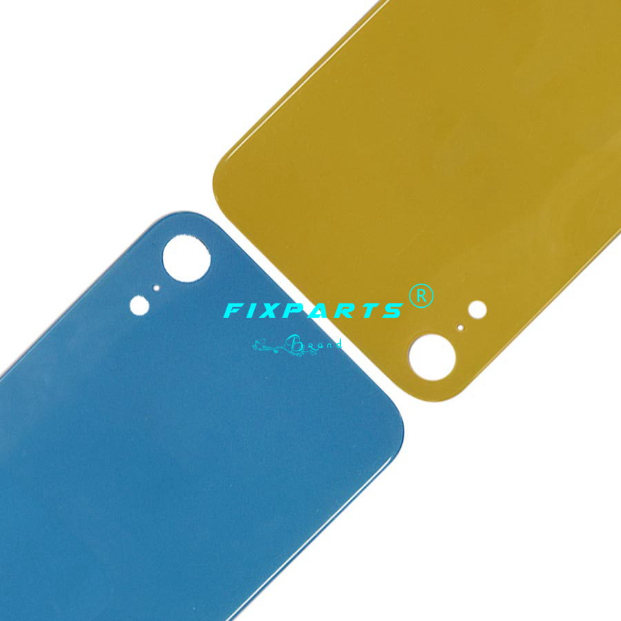 iphone X XS MAS XR Rear Door Battery Back Housing Glass Replacement Parts With Logo
