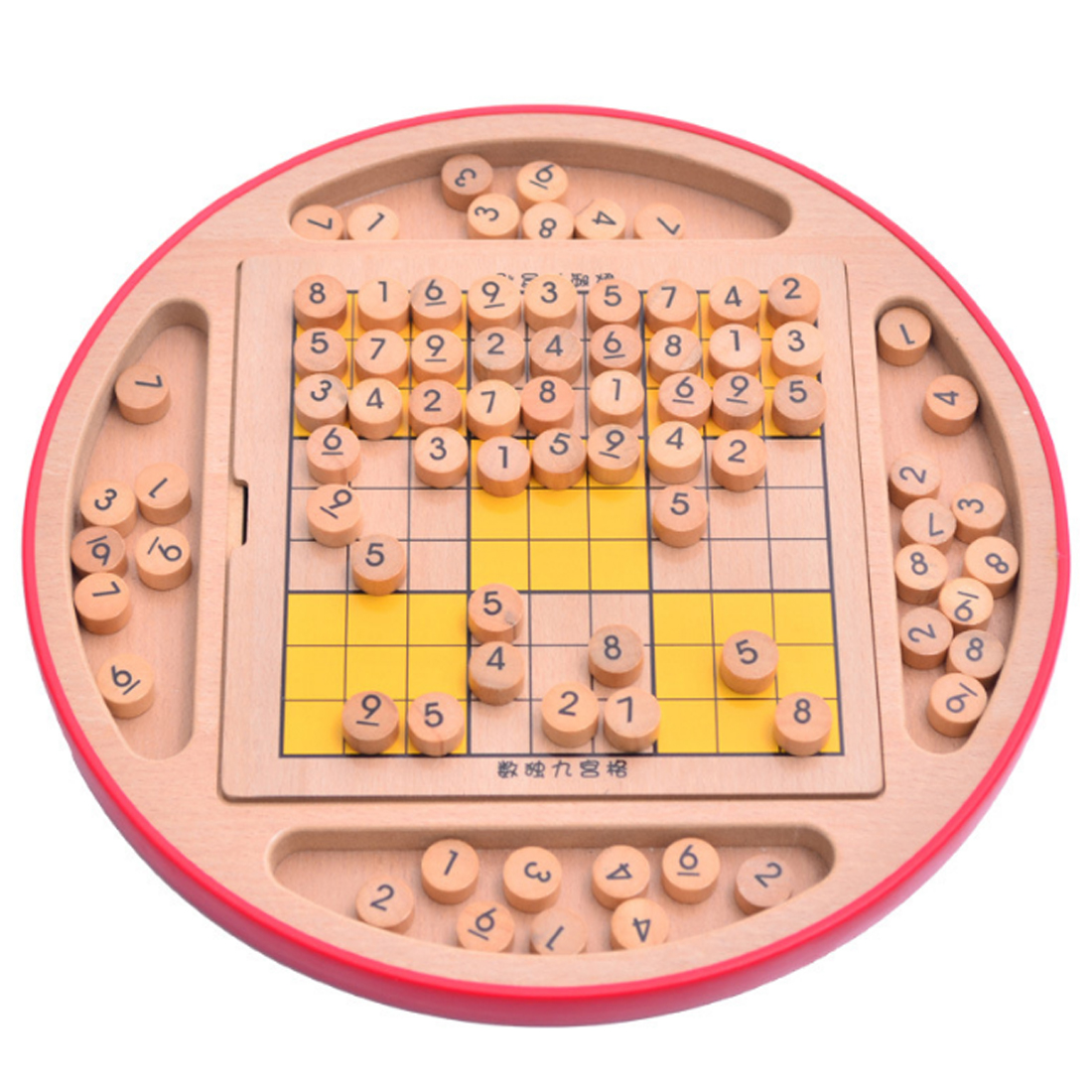 Multifunction Wooden Adult Desktop Game Sudoku Puzzle Game Board Toys