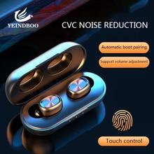3D Stereo Wireless Bluetooth Earphone Sports waterproof Earphones Wireless Headphones