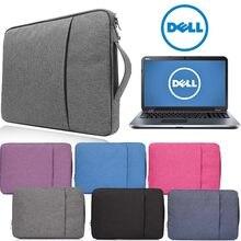 Bolsa para portátil para dell inspiron 14 15/latitude/precisão/vostro/xps 11 12 13 14 15 caso do caderno bolsa para dell luva saco