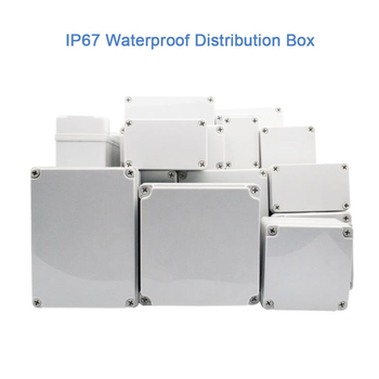 High-end Quality IP67 Waterproof DIY Electrical Junction Box ABS plastic Enclosure Case Outdoor Distribution box 170*140*95mm image