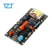 Tzt diy placa de circuito para grande diafragma condensador microfone diy alimentado por 48v phantom power