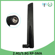 Router Wifi Antena 8dbi Rp-Sma-Connector Sma Female Dual-Band 5ghz Wireless Aerial Real