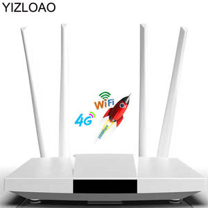 YIZLOAO Gateway Wifi-Router Sim-Card-Slot Ethernet-Ports 300mbps RJ45 4G Unlocked LTE