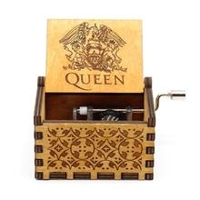 Деревянная музыкальная шкатулка королевы, ручная Музыкальная Шкатулка В богемном стиле, подарки на Рождество и День святого Валентина