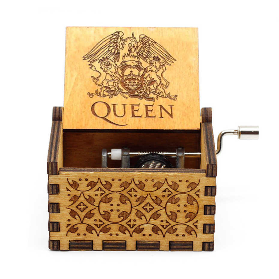 Birthday Christmas Xmas Gifts Fans Collections Clockwork Mechanism Queen 01 Room Decorations Queen Music Box Song Bohemian Rhapsody