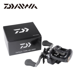 Image 5 - DAIWA TATULA HD TYPE HD Fishing Reels 200H/200HL/200HS/200HSL 7BB Baitcast Reel Gear Ratio 6.3:1/7.3:1 Max Drag 6kg Reel Fishing