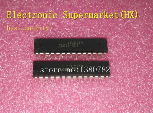 จัดส่งฟรี 50 ชิ้น/ล็อต TLC5940NT TLC5940 DIP 28 ใหม่ IC สต็อก!