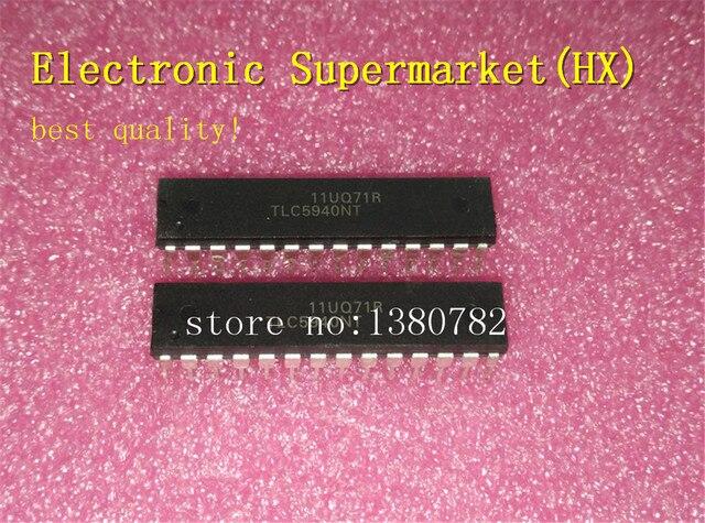 Free Shipping 50pcs/lots TLC5940NT  TLC5940  DIP 28  New original  IC In stock!