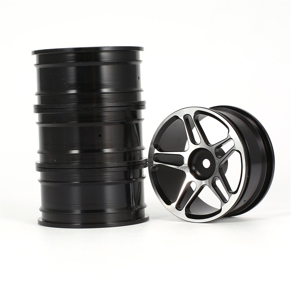 4PCS 2 05 Inch Aluminium Alloy Rim for HSP Redcat HPI Kyosho 1 10 RC Drift On Road Racing Car Wheel Hub Touring Upgrade Parts in Parts Accessories from Toys Hobbies
