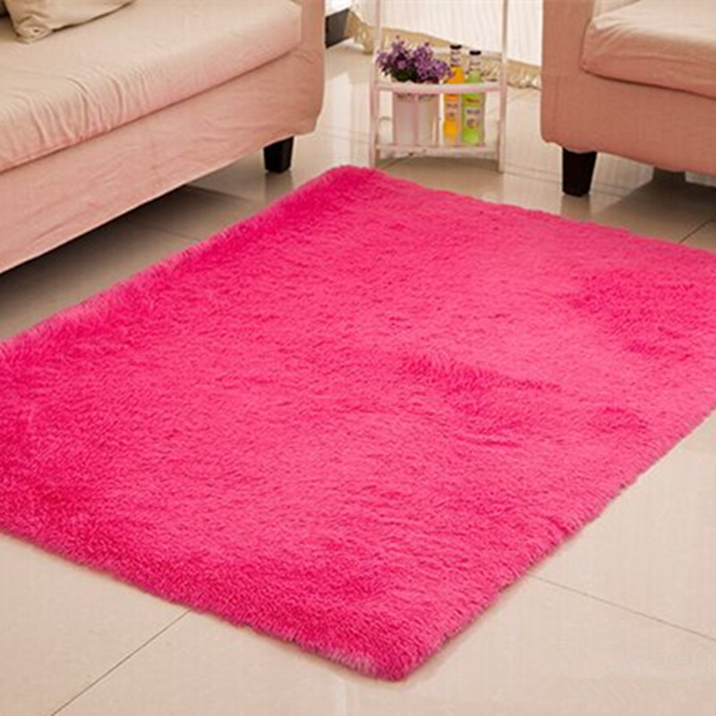 Коврик для гостиной/спальни, противоскользящий, мягкий, 150 см* 200 см, современный ковер, коврик, белый, розовый, серый, 11 цветов - Цвет: 010