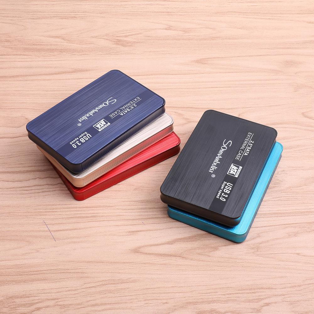 Disco rígido externo 2.5 disco rígido portátil hd externo 1 tb 2 tb usb3.0 armazenamento, adequado para, ps4, pc, mac, xbox