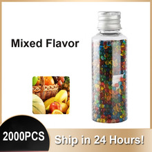 2000PCS DIY Mixed Black Mint Flavour Cigarette Pops Beads Ice Fruit Cigarettes Popping Capsule for Tobacco Filters Smoking Tools