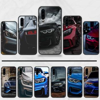 Mantin BMW sports car Phone Case For Huawei P9 P10 P20 P30 Pro Lite smart Mate 10 Lite 20 Y5 Y6 Y7 2018 2019 image