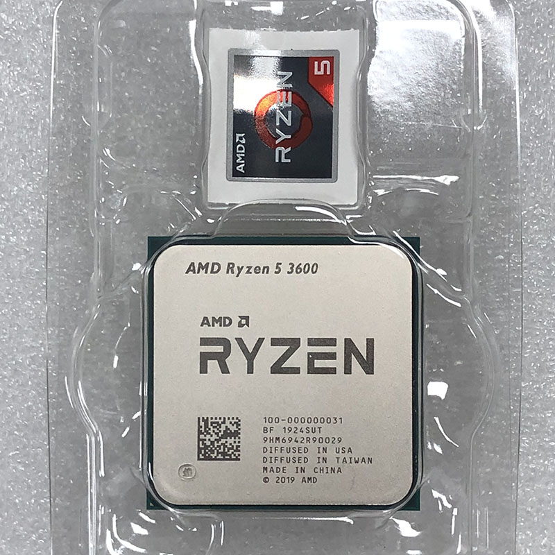 IsMyStore: AMD Ryzen 5 3600 R5 3600 3.6 GHz Six-Core Twelve-Thread CPU Processor 7NM 65W L3=32M 100-000000031 Socket AM4