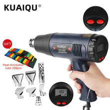 Hair-Dryer Heat-Gun Soldering-Tools Temperature-Controlled Building Digital Electric