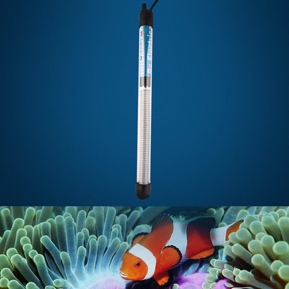 50 Вт/100 Вт/200 Вт/300 Вт США штекер погружной нагреватель нагревательный стержень для стеклянного аквариума температура аквариума регулировка