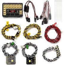 Подходит для 1/10 имитации подъема автомобиля TRAXXAS TRX 4 G500 светильник s TRX4 G500 связь светильник Панель s освесветильник на крышу s