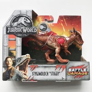 Image 3 - 16 20cm oryginalny świat jurajski zabawki atak paczka Velociraptor Triceratops smok pcv Model postaci lalki zabawki dla dzieci