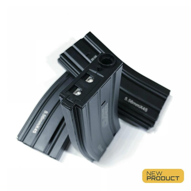 Jiqu Upgrade Metal Magazine Water Bullet Is Suitable For Water Gel Blaster JM8 HK416 556 General Cartridge Clip Children's Toys