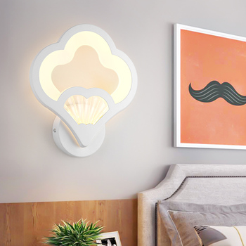 Nordic Vintage Loft Wood LED Wall Lamp Bedroom Bedside Wall Lights Aisle Corridor Hotel 110-240V Decoration Lights & Lighting