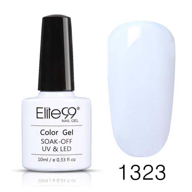Elite99 Weg Tränken 10ml Reine Farbe UV Gel Nagellack Vernis Semi Permanent Nagel UV Polish Hybrid Lack Nagel kunst Maniküre Nägel