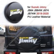 Capa de roda de reposição para suzuki jimny jb64 jb74 2018-2020 plutônio preto pneu de carro capa de pneu de reposição capas de roda de pneu de reposição caso protetor