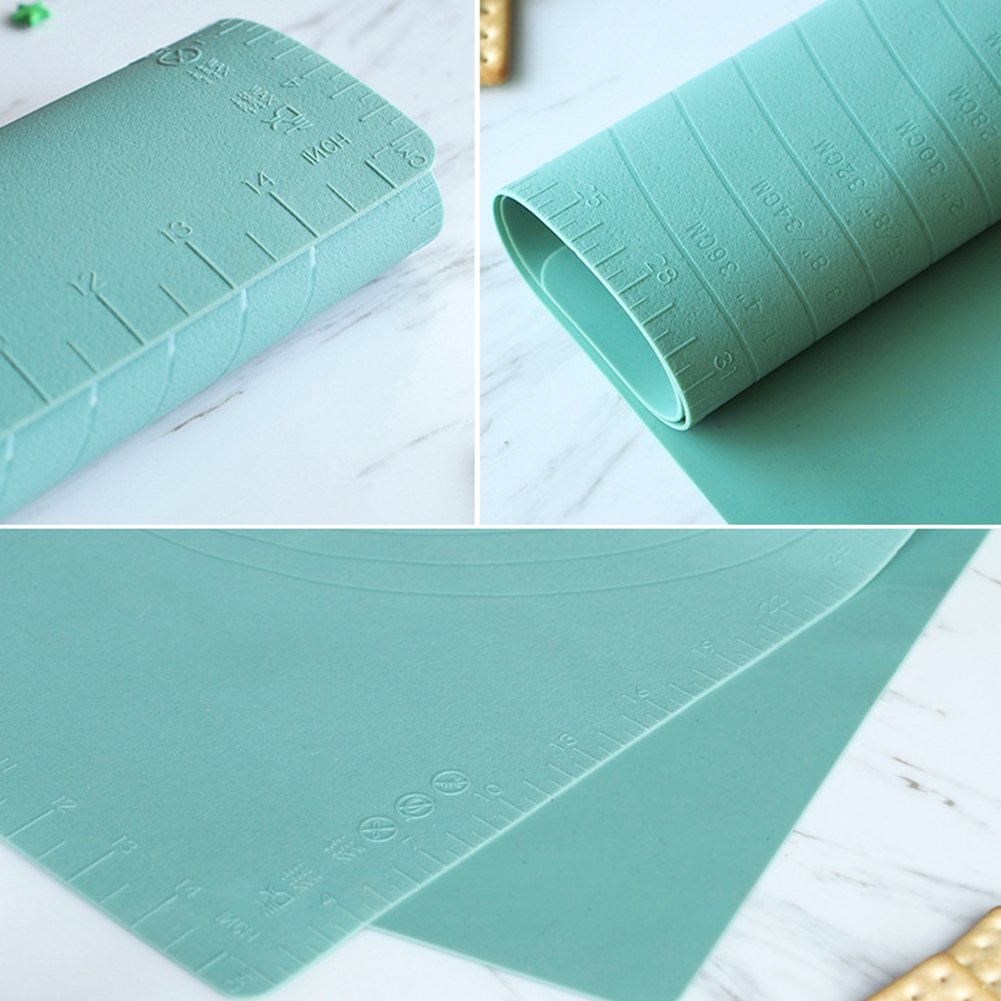 Baking Mat Nonstick Silicone Kitchen Extra Large With Measurement Dough Rolling Pad Tool Accessories Pastry Home Fondant