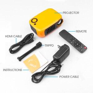 Image 5 - Kebidu מיני נייד מקרן 800 לום תומך 1080P LCD 50000 שעות מנורת חיים קולנוע ביתי וידאו מקרן עבור האיחוד האירופי תקע