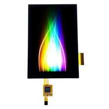 3.5 polegada tela lcd módulo display painel de toque com placa base do adaptador pcb stm32 teste r61529 ips ângulo visão completa 320480 mcu 45 p