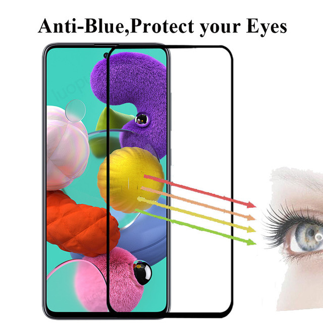 tempered glass for samsung A51 A71 A50 A30 a 51 a31 a21s glass camera lens screen protective for samsung galaxy A71 A51 glass 2