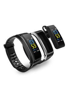 Wireless Bluetooth Earphone Wristband Fitness-Bracelet Smart-Watch Plus Y3 Pedometer