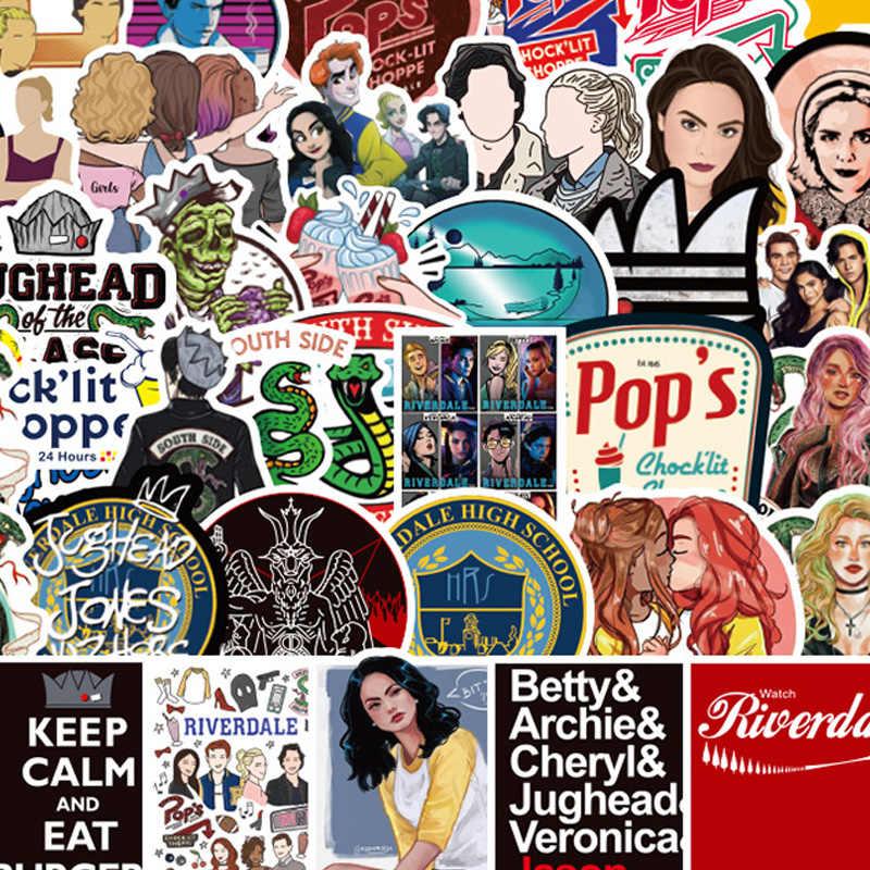 10 Bộ Riverdale 50 Cái/bộ Truyền Hình Cosplay Bé 90 Paster Tặng Đồ Chơi Cosplay Funny Decal Thêu Sò Tự Làm Điện Thoại laptop Trang Trí