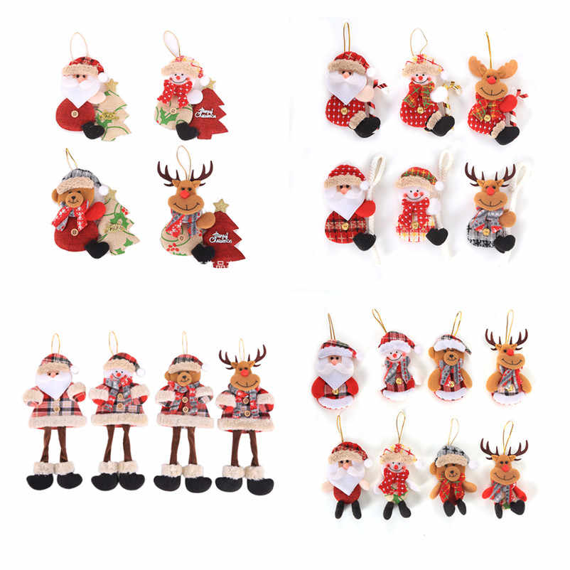 2020 New Year Decorations Kerst Santa Claus Snowman Doll Navidad Ornaments Christmas Decorations for Home Natal Noel Natal Gfits