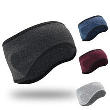 Headband Fleece Yoga Outdoor-Sports Women Winter Ear-Warmer Cycling Unisize Skiing Elastic